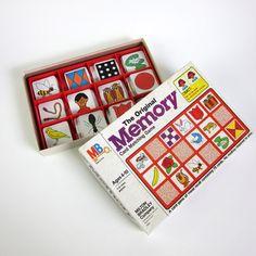 The Original Milton Bradley MEMORY Game 1980 / Complete by OopseeDaisies, $13.00
