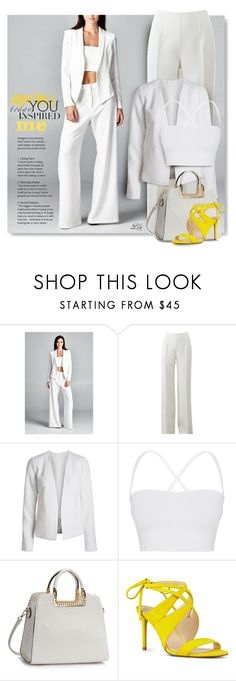 """""""Statement Shoes - bold colors"""" by breathing-style ❤ liked on Polyvore featuring Michael Kors, Theory and Nine West"""