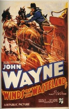 Winds of the Wasteland (1936) - The arrival of the telegraph put Pony Express riders like John Blair and his pal Smoky out of work. A race will decide whether they or stageline owner Drake get the government mail contract.