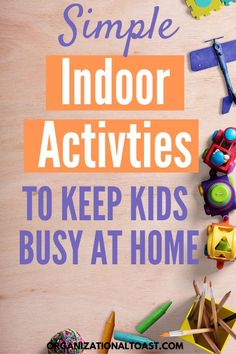 Say goodbye to boredom and kick cabin fever to the curb with these awesome indoor activities for kids! These no technology activities for kids will get their minds working and their bodies moving! Perfect activities for when you cant leave the house! Indoor Activities For Toddlers, Indoor Activities For Kids, Family Activities, Childcare Activities, Outdoor Activities, Kids Moves, Business For Kids, Business Ideas, Kids Education