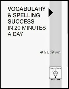 Vocabulary and Spelling Success in 20 Minutes 4th Edition   Bookz Ebookz