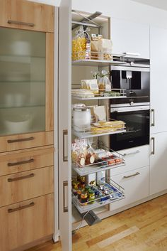 One of the numerous dorm room ideas you can do is to get a set of bed risers. Küchen In U Form, Timber Kitchen, Kitchen Cabinets, Kitchen Appliances, Kitchens, Tiny House Plans, French Door Refrigerator, Dorm Room, Storage Spaces