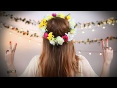 How to Make a Flower Crown | Video | POPSUGAR Fashion