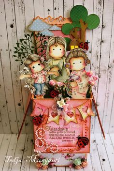 """Welcome to my blog: """"Card in a Box""""(Friendship)"""