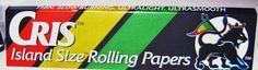 View it on http://Papr.Club - Cris Island King Size All Natural Cigarette Rolling…