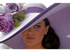 to one day be a vision of class and beauty at the Kentucky Derby in a fantastic side-sweep hat