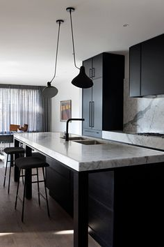 Kitchen | Toorak Residence by Hecker Guthrie | est living