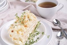 Торт Наполеон — пошаговый рецепт приготовления с фото в домашних условиях Grains, Rice, Print Button, Casual Shirt, Recipes, Letter, Food, Design, Eten