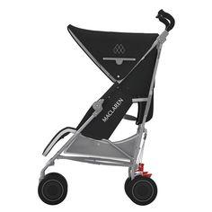 Maclaren Techno XT-Black/Silver (New)