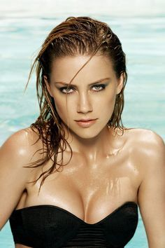 Amber Heard...that babe from Never Back Down