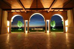 Villa del Lago_Gallery - Pavilion Night Skyline View