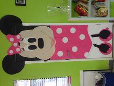 Minnie Mouse pre school door:)