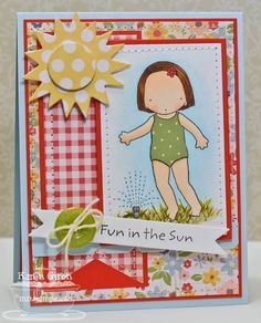 Fun in the Sun by karengiron - Cards and Paper Crafts at Splitcoaststampers