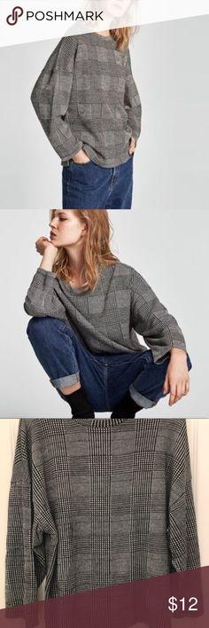 a88c41071322f Zara Sweater NWOT Zara Sweater Womens Size XL  12.00 Zara Sweaters Crew    Scoop Necks