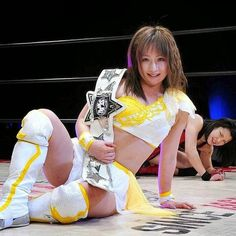 Retired Japanese female wrestler Yuzuki Aikawa