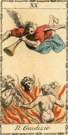 Judgement - Ancient Tarot of Lombardy