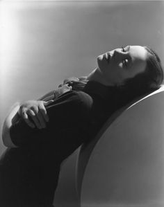English-born actress Jessica Tandy photographed by Horst P. Horst, 1939.