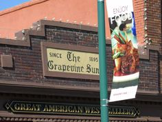Historic Grapevine Texas  Main Street