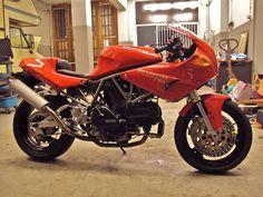 Ducati 750 SS Nuda Monoposto, love this bike, happy riding!
