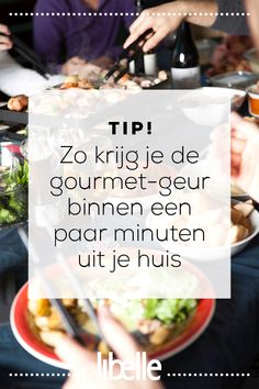 Zo krijg je de gourmet-geur binnen een paar minuten uit je huis Lamb Recipes, Wine Recipes, Good Housekeeping, Natural Cleaning Products, Homemaking, Food Hacks, I Foods, Good To Know, Cleaning Hacks