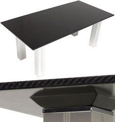 Seibon Carbon Fiber Coffee Table Scoffs At Coasters | OhGizmo!