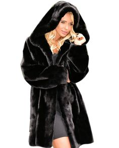 Roiii Lady Women Thicken Warm Winter Coat Hood Parka Overcoat Long Jacket Outwear -- Hurry! Check out this great product : Plus size coats