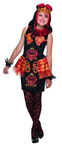 Ever After High Lizzie Hearts Costume, Child's Medium – Selena's Costumes Kids Costumes Girls, Halloween Costumes For Girls, Cool Costumes, Costume Ideas, Tween Costumes, Halloween 2015, Halloween Cosplay, Halloween Crafts, Halloween Ideas