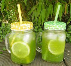 Mal was anderes außer Wasser trinken? Wie wäre es mit dieser leckeren Zitronen-Minze-Limonade...kann man übringens auch im Winter trinken.