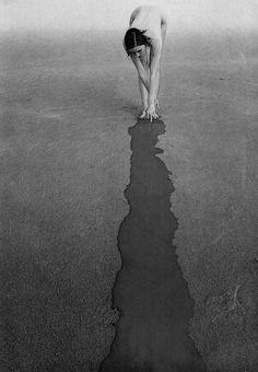 Making My Mark ... Guy Bourdin - Photofrance, September, 1972