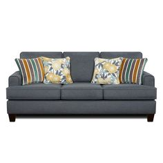 Max Denim Sofa | Weekends Only Furniture and Mattress