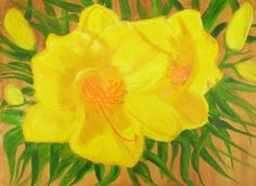 Yellow Day Lily by Elizabeth Janus