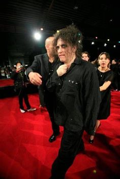 Robert Smith Red Carpet