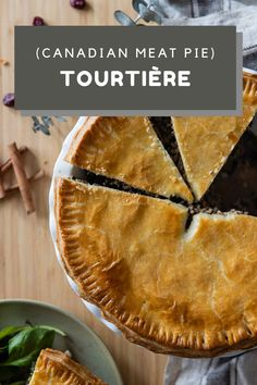 Tourtière is a French Canadian Meat Pie that tastes better than anything you have tried in your life! Crunchy and juicy at the same time. #tourtiere #canadianpie #frenchcanadian Pie Recipes, Real Food Recipes, Cooking Recipes, Clean Eating Diet, Dried Cranberries, Original Recipe, Healthy Cooking, Love Food, Food Photography