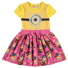 Girls Despicable Me Minion Dress