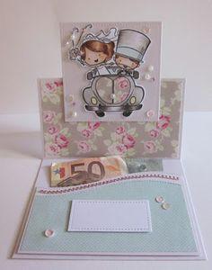 le timbrine di Impronte: easel card + porta soldi :)