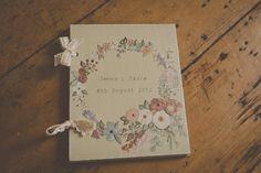 Sur mesure Floral peint à la main un Album par HandmadebySadieFay
