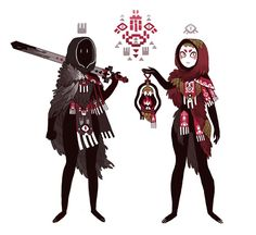 R A B B I T — necromancer and her witch pal