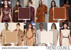 Fall Fashion Colors, Fall Fashion Trends, Colorful Fashion, Autumn Winter Fashion, Fall Winter, Trend Council, Fashion Forecasting, Winter Trends, Color Trends