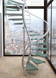 #DNA Stairs. Getting it in my next home. #smartforce.pro #spiral staircase