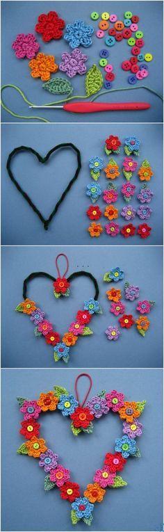 How to Crochet Wreaths   diypictures.net