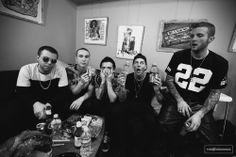 The Neighbourhood / The NBHD / Jesse Rutherford, Mikey Margott, Bryan Sammis, Zach Abels, Jeremy Freedman Jesse Rutherford, Rip To My Youth, Zach Abels, The Neighbourhood, The 1975, Cool Bands, Concert, Celebrities, Face