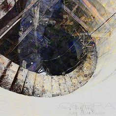 A DEEPER DOWN Modern abstract photography Cobra Art Company Photographic art on plexiglas and aluminium