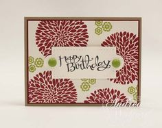 Stampin+Up+Card+Ideas | Blossom Birthday Stampin' Up! Card :: Andrea Walford - The Art of ...