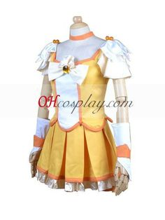 Pretty Cure Smile PreCure Kise Yayoi (Cure Peace) Cosplay Costume : -Cosplaymade