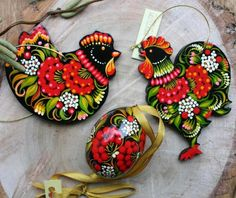 Acrylic Paint On Wood, Painting On Wood, Painted Rocks, Hand Painted, Painted Wood, 12 Days Of Xmas, Arte Country, Wooden Tags, Quilling Designs