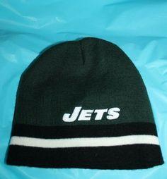 69d6d63462c New York Jets Genuine NFL Reebok Winter Knit Hat Acrylic Size 8-20 Youth  Junior