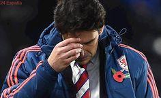 El Middlesbrough despide a Aitor Karanka