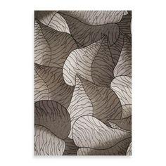 "KAS Horizon Silver Fauna Indoor/Outdoor Floor Mat - BedBathandBeyond.com      $158    5'3"" X 7'7"""