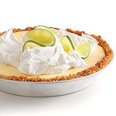 Key Lime Pie | MyRecipes.com at 280 calories per slice this is half the calories of regular