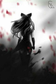 From Shadows by Sora-no-Muko on DeviantArt All Anime, Me Me Me Anime, Anime Girls, Anime Art, Rwby Blake, Red Like Roses, Rwby Ships, Achievement Hunter, Blake Belladonna